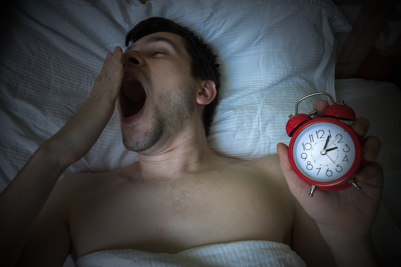 going to bed late - work performance affected