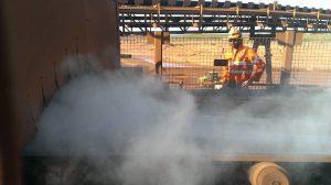 dry fog dust suppression in mining