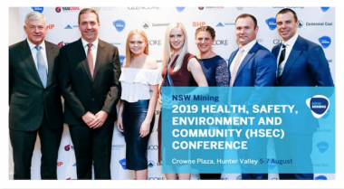 NSW Mining HSEC Conference Awards