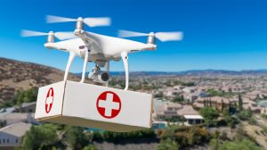 royal flying doctor service drone delivery of medical supplies