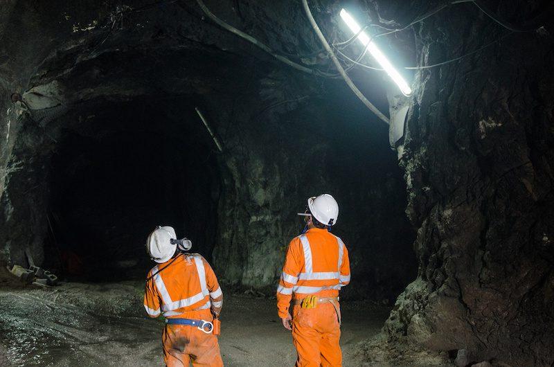 underground mining fire gold mine