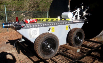 Mines rescue robot used at Pike RIver