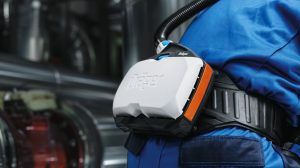 intrinsically safe powered air purifying respirator