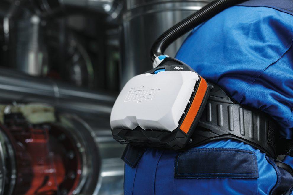 intrinsically safe powered air purifying respirator