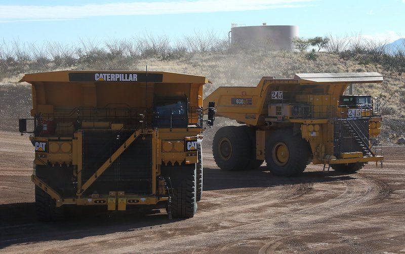 Caterpillar self driving truck 793F bound for Koodaideri