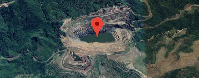 a slope stability issue has triggered a response at the gongo soco mine