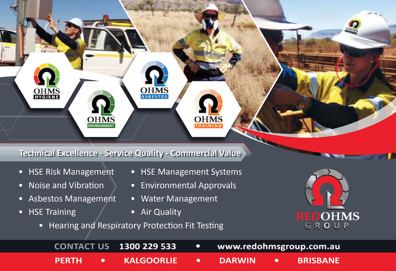RED OHMS provides a range of services across mining industry