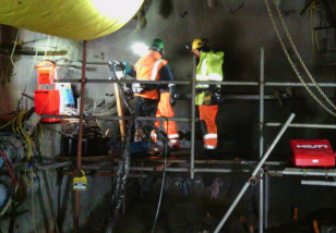 preparations at pike river mine for breaking of the mine seal