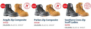 new work boot range from steel blue
