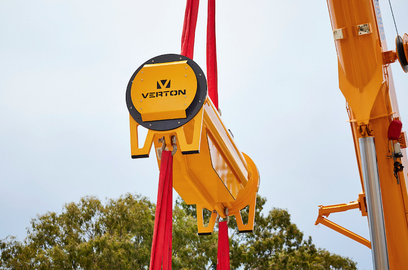a new load orientation system will improve safety through removing the use of taglines