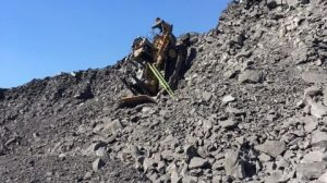 Dozer Operator averts disaster after going over an edge at night