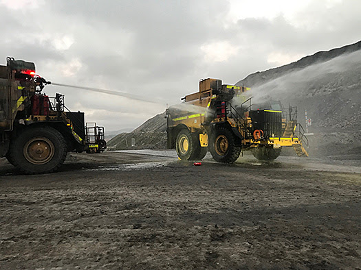 mining truck fires still continue to plague the industry.
