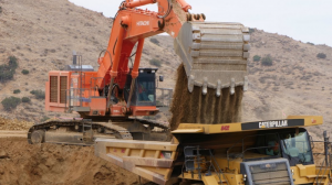 a collision between an excavator and autonomous dozer occurred at Wilpinjong mine