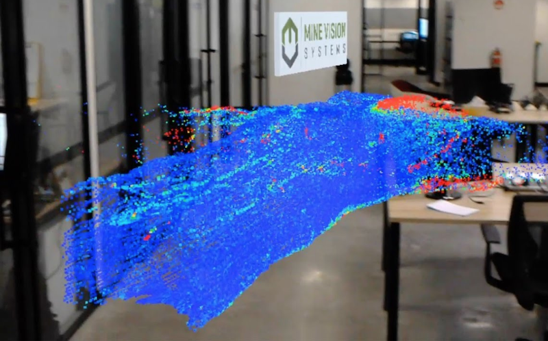 3D mapping solutions providers Mine vision systems has joined with Peck