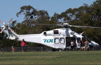 Toll NSW REscue Helicpopter