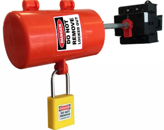 Isolation lockout devices - Isolator bar lockout