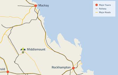 Middlemount Coal mine