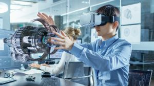 virtual reality mine used for training undergraduate miners in mining practices