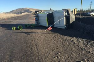 Light vehicle in rollover at NSW Mine