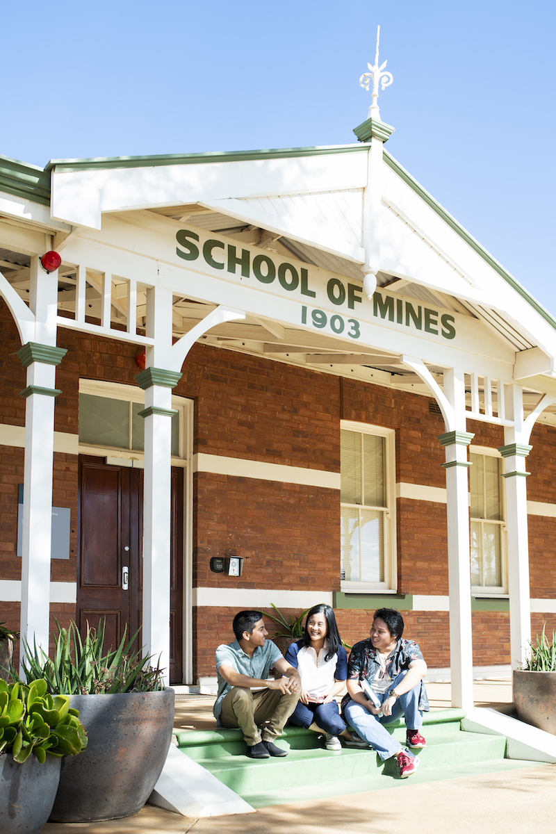 Curtin Kalgoorlie University School of mines