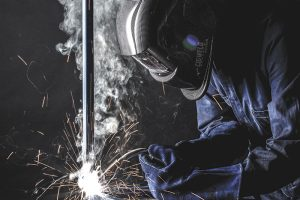 Welding fume protection advice for mining