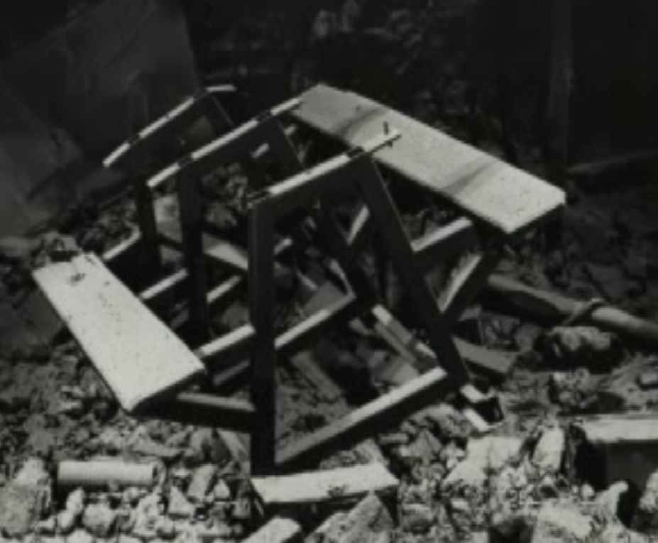 Moura No 4 mine disaster crib table