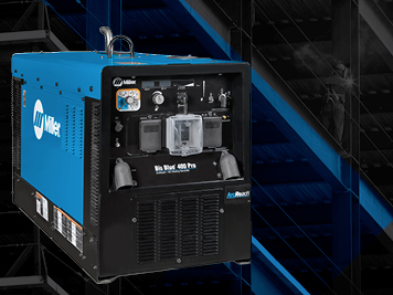 Miller Big Blue 400X has a range of new safety features