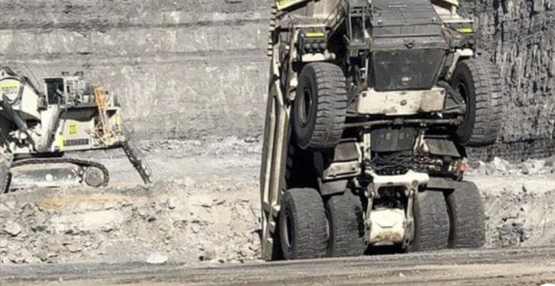 mount arthur haul truck incident