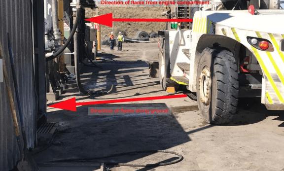 enforecable undertaking tyre handler incident