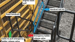 retractable access ladder - death of Jack gerdes