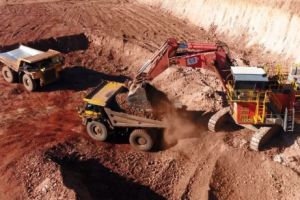 Bootu Creek Mine where a mine worker has been buried