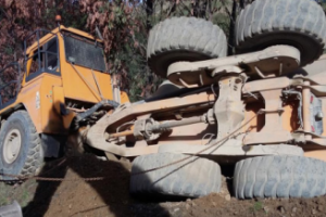 ADT rollover at NZ Quarry