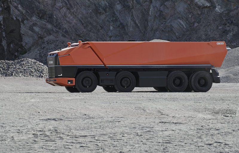 Scania AXL fully autonomous mining truck