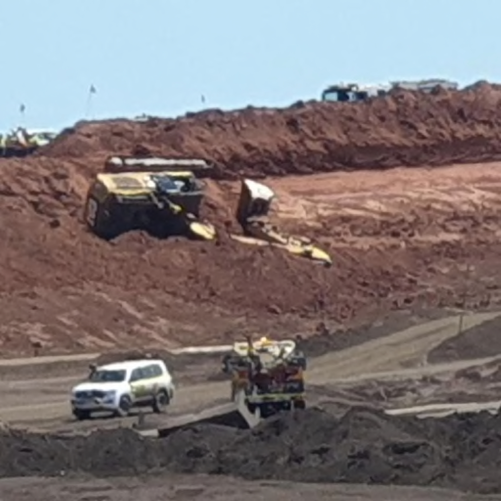 Excavator inceident at GEMCO in the Northern territory