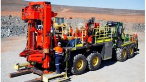 mobile raise boring machine