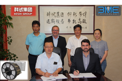 3ME Technology signs agreement with China Keshi Group for Flameproof motors