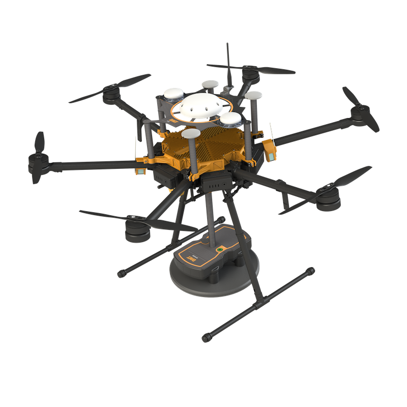 Blast movement technologies introduces drone based technology