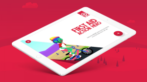 A First Aid app has been created to help children reinforce First Aid Skills