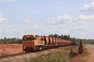 ore train collision at rio tinto weipa