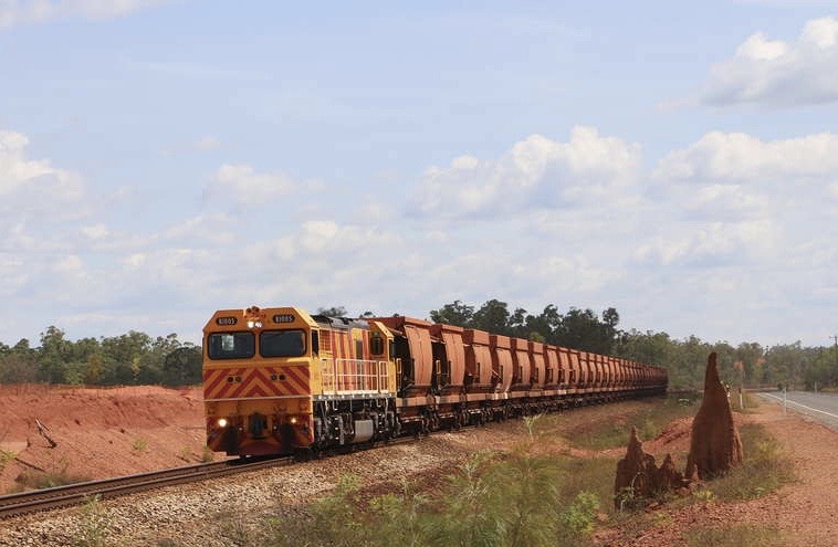 ore train collision at rio tinto weipa