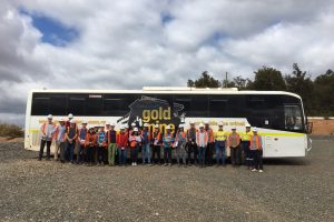 mining rehabilitation students examined best practice in mine closures