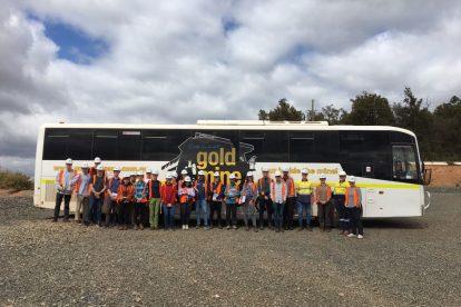 mining rehabilitation students examined best practice in mine closures