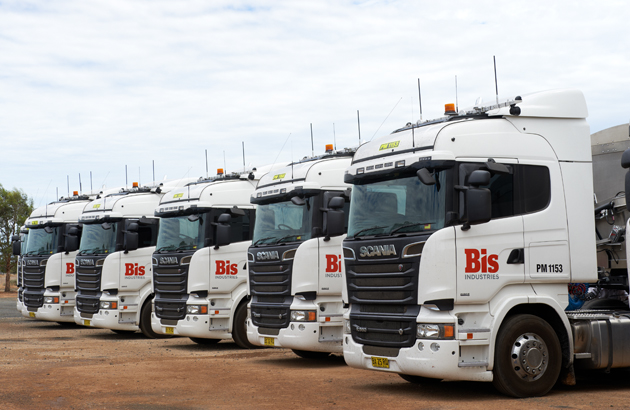 BIS Industries Scania Fleet