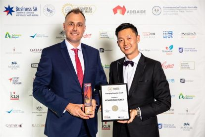 REDARC Electronics win emerging exporter award