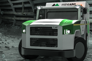 new mines rescue vehicle by Minerac