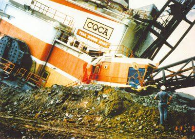 Dragline incident at Peak downs mine