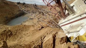 Dragline safety incident BHP BMA