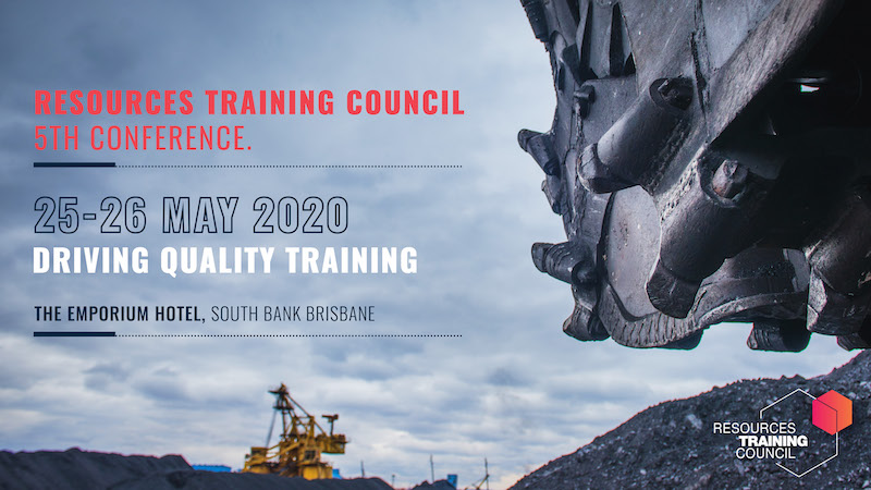 Resources Training Council Conference 2020 Logo