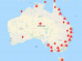 Australian Bushfire Map provides interactive location of bushfires