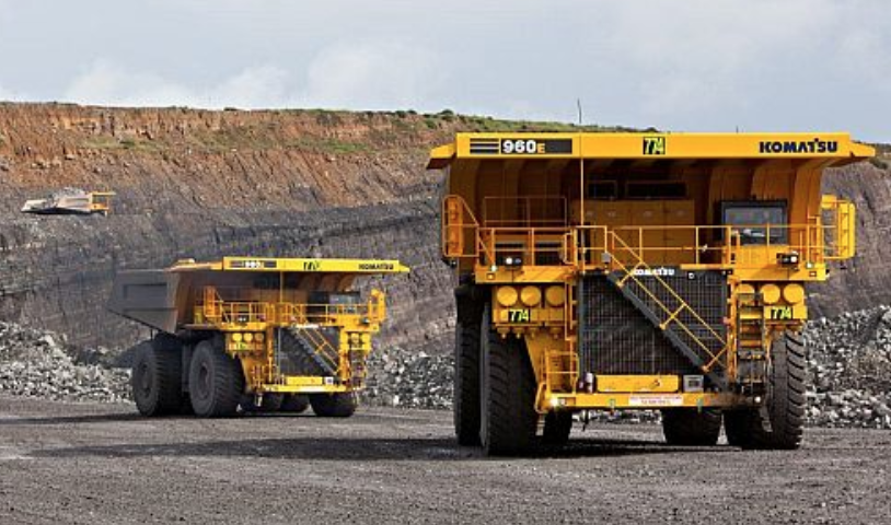BMA automation of haul trucks at Goonyella Riverside mine